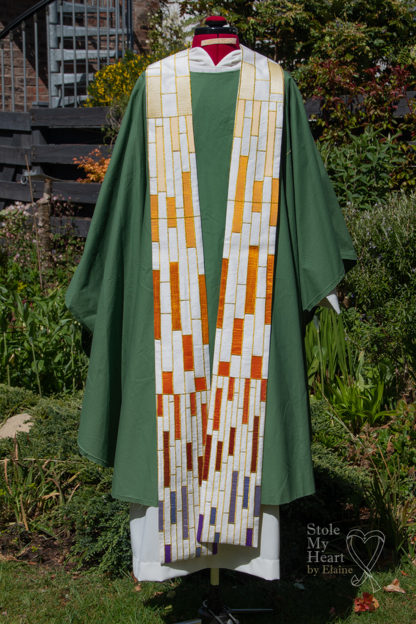 Dove and Candle Stole